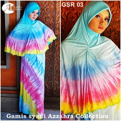 Azzahra Coolection Baju Pelangi