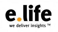 e life logo
