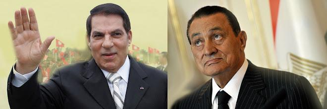 Zine Abidine Ben Ali-Hosni Mubarak
