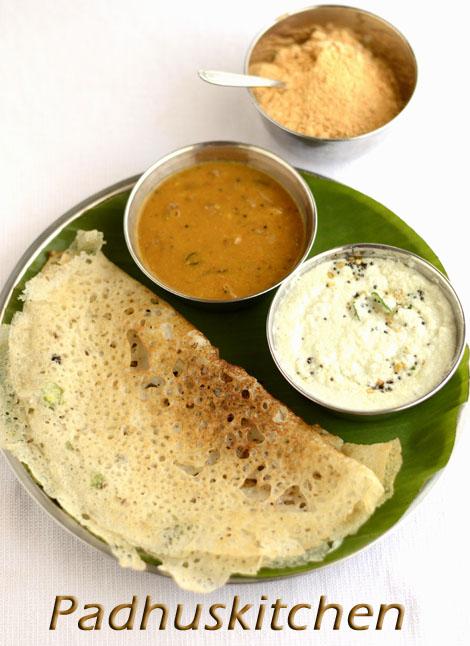 Onion Rava Dosa Recipe-Instant Rava Dosa (step wise ...
