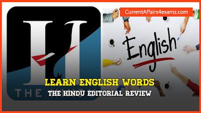 Hindu Editorial Review