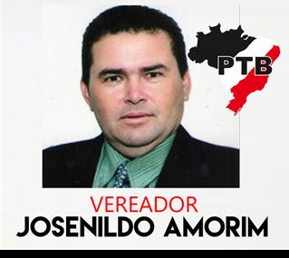 Vereador e Presidente da Câmara Josenildo Amorim