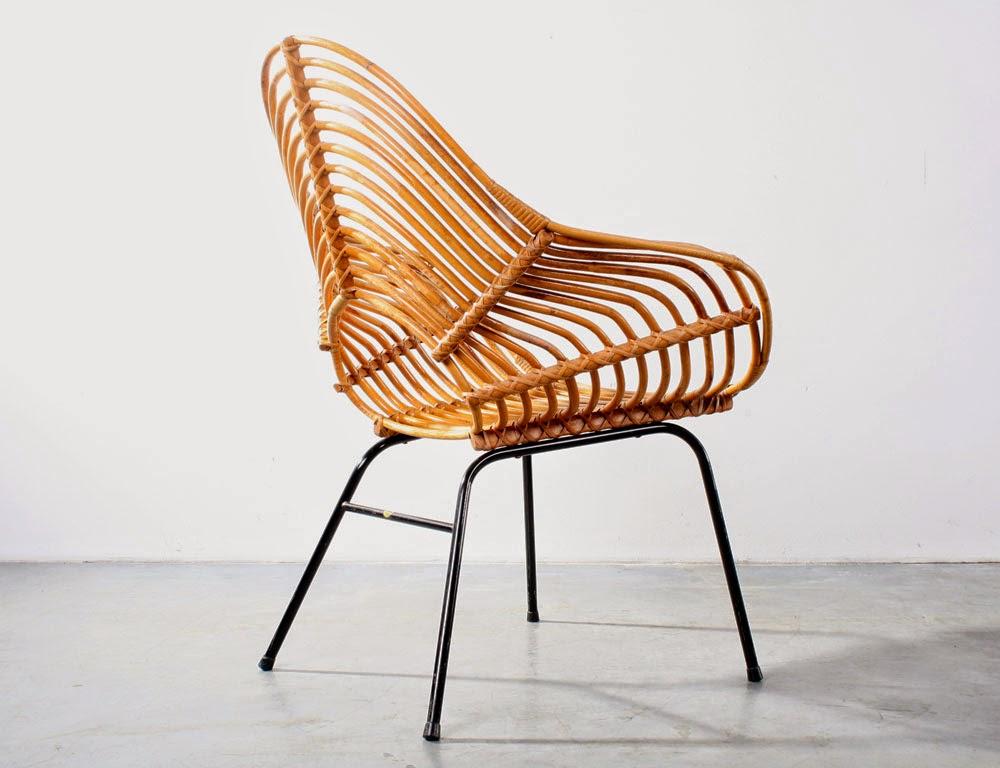 New arrivals vintage design furniture fauteuil rotan rattan chair - Rotan stoel van de wereld ...