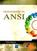 Programming in ansi c 4e by balaguruswamy computer Ansi c compiler online