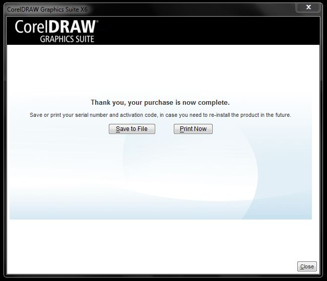 CorelDRAW: Download and install a free 30 day trial of