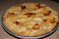 Old-Fashioned Deep Dish Peach Pie