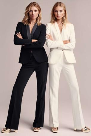 pantalón, americana y esmoquin de mujer H&M