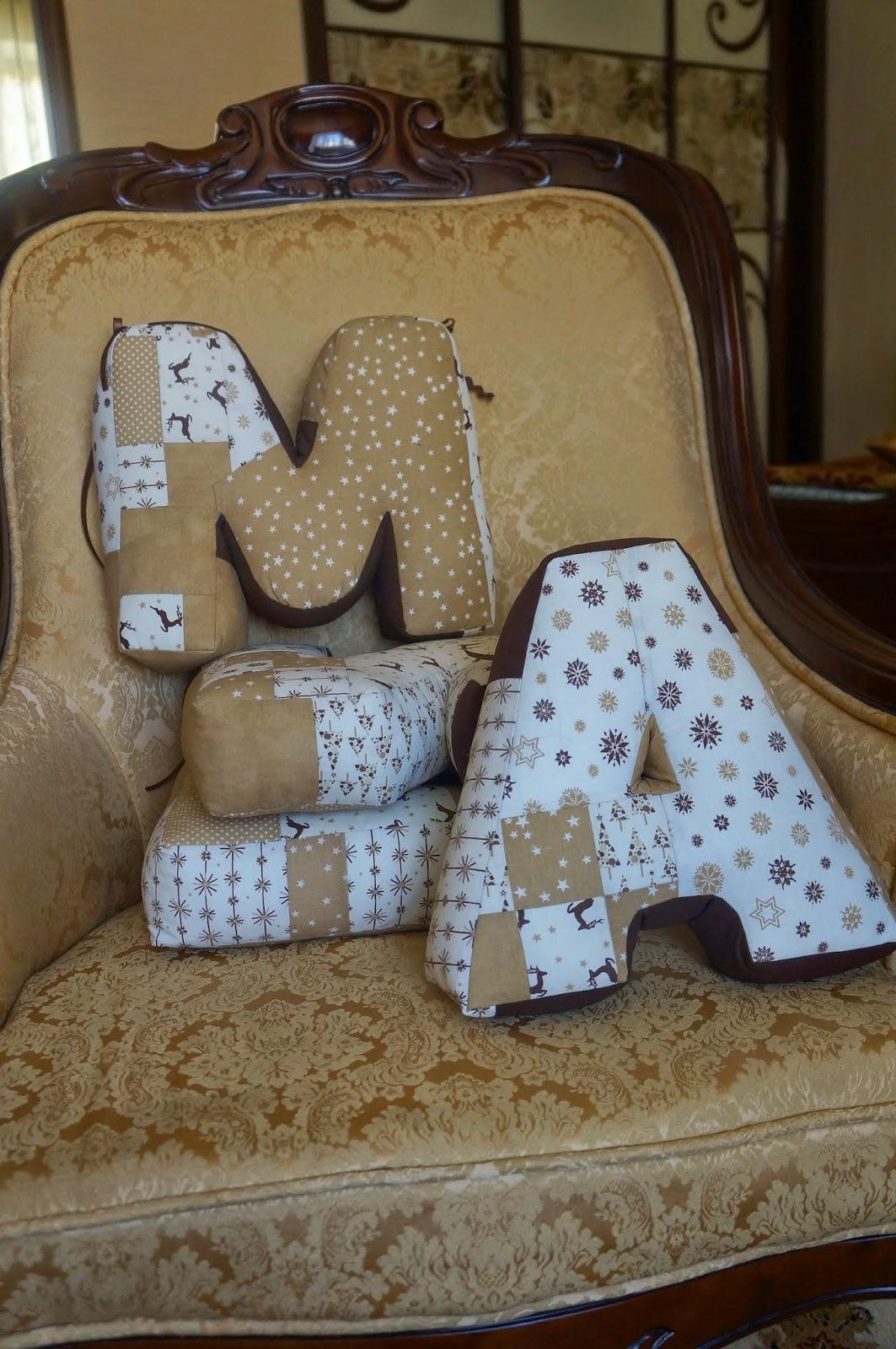 Текстильные буквы