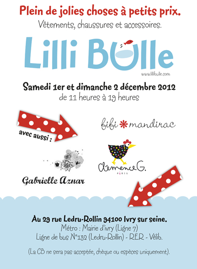 rue de la forge royale braderie lilli bulle hiver 2012. Black Bedroom Furniture Sets. Home Design Ideas