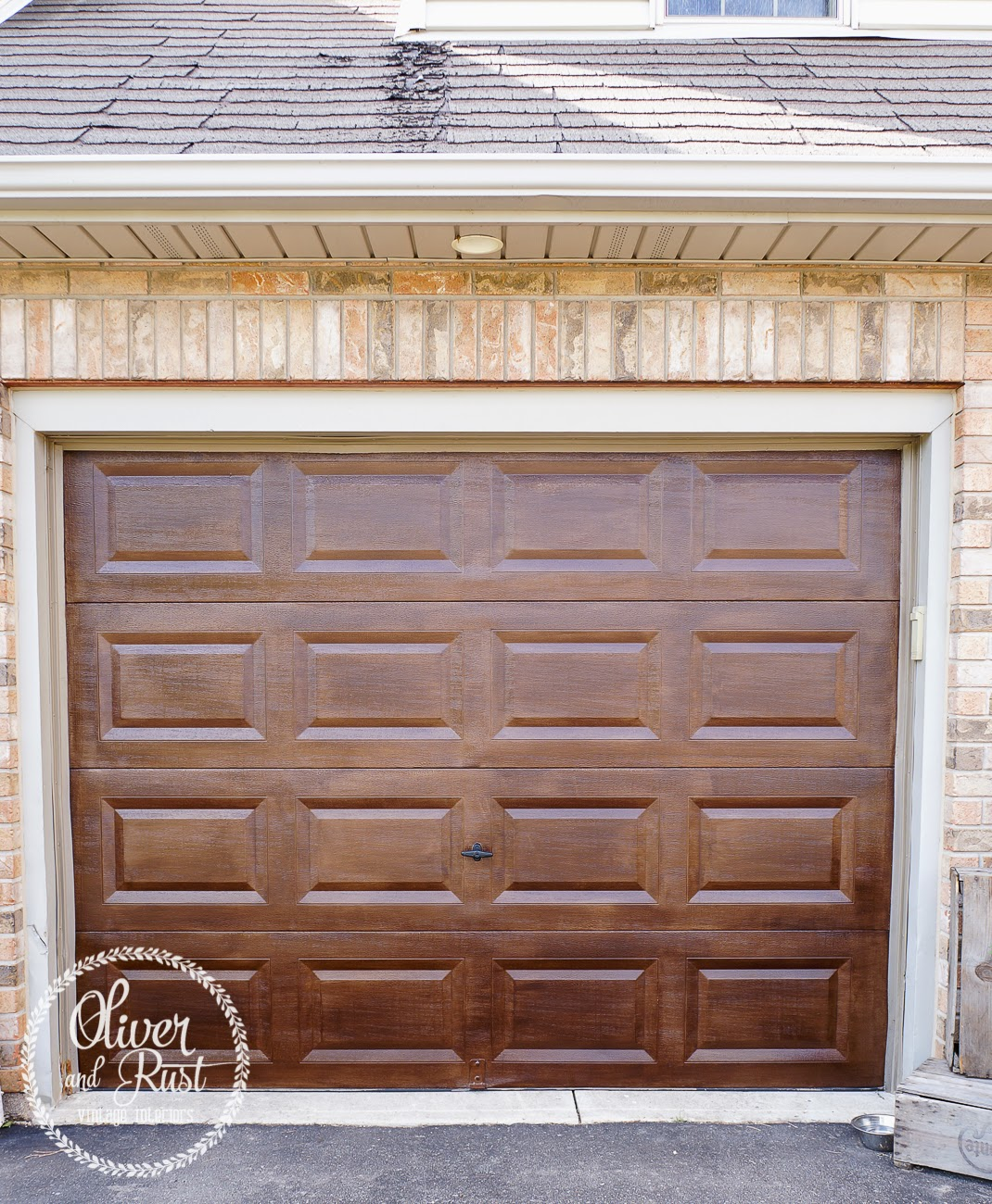 Oliver And Rust Wood Garage Doorsfor Cheap