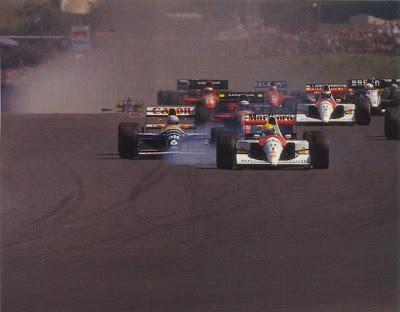 GP da Hungria de Formula 1 , Budapest, Hungaroring, em 1991 - continental-circus.blogspot.com