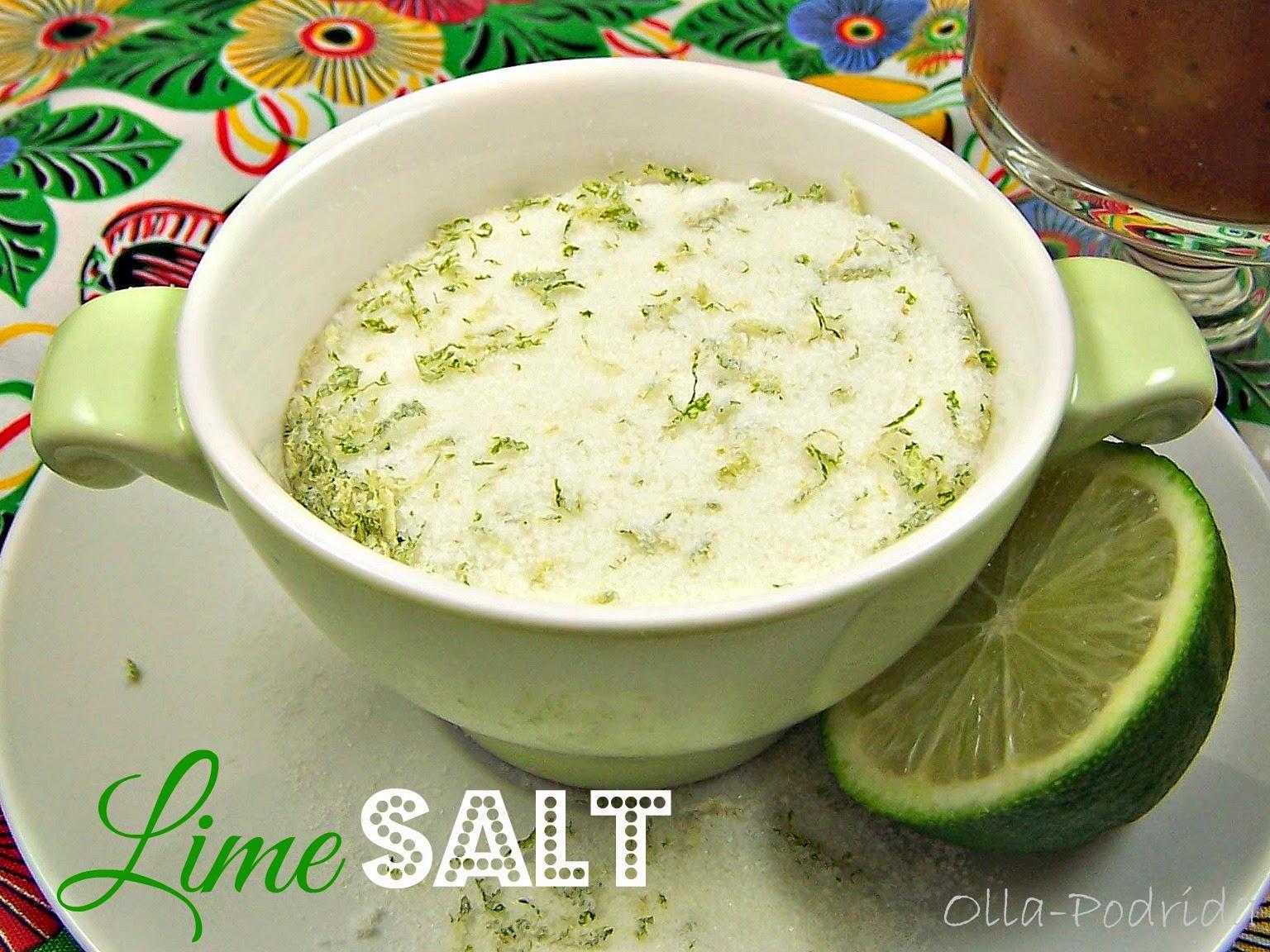 lime-infused salt