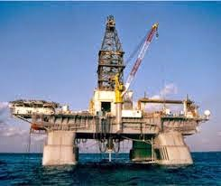 Image of Petroleum Engineering rig offshore