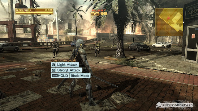 Metal Gear Risin Revengeance Full Tek Link İndir + Torrent