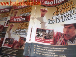 Huellas Bolivia, febrero 2012: