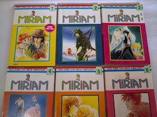 Jual Komik Miriam Langka Bekas Koleksi full Cover