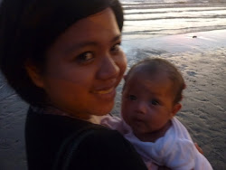 Mama Phoebe and Baby Sophia At Tg Aru Beach