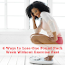 6 Ways to Lose Weight Without Exercise Fast - Losing One Pound Each Week Without Exercising