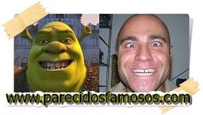 Shrek con Parecido