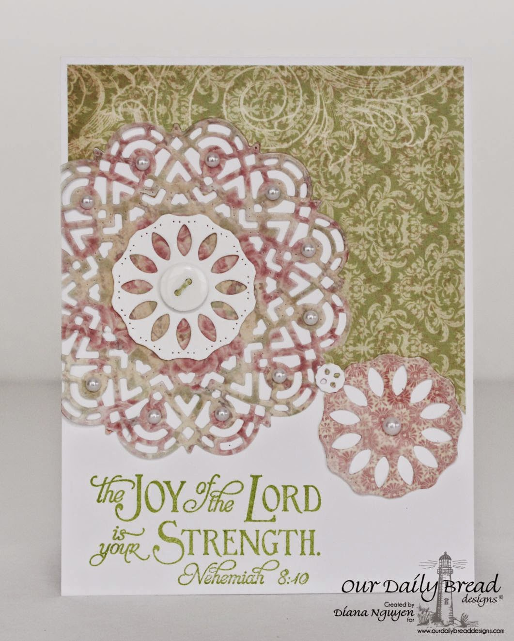 Diana Nguyen, Our Daily Bread Designs, Scripture Collection, Scripture, Doily