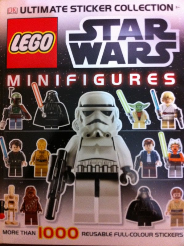 For The Geek In Us: For the Lego Fan - Sticker Album