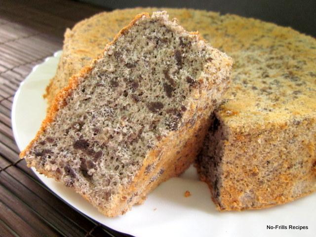 Rice Flour Chiffon Cake Recipes