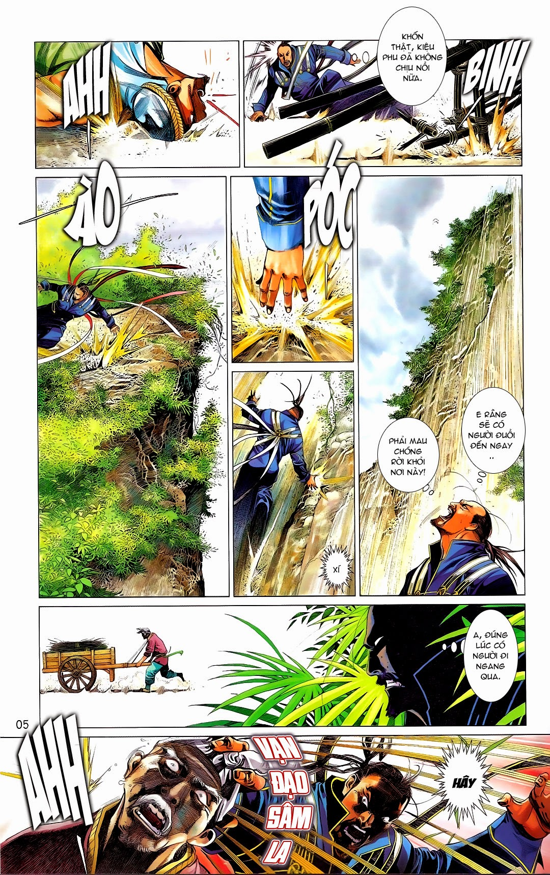 Phong Vân chap 669 Trang 5 - Mangak.info