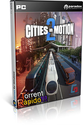 Download da Capa 3D do Game Cities in Motion 2 PC BY Torrent Rápido!!!