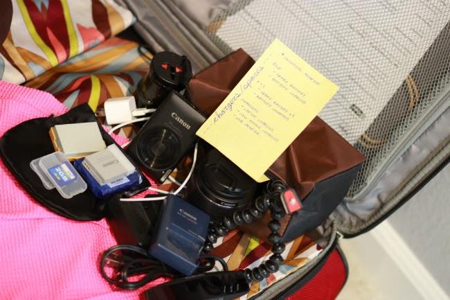electronics international travel packing tips