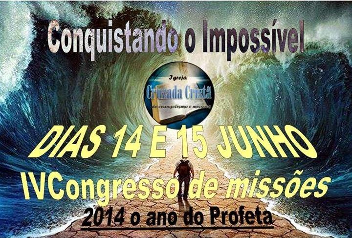 IV.CONGRESSO DE MISSÕES