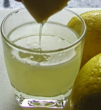 natural homemade deodorant lemon juice