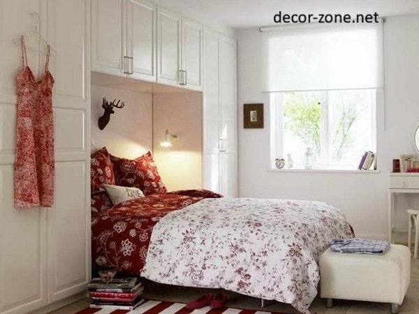 using white color in small bedroom decor. Smart small bedroom design ideas 2016