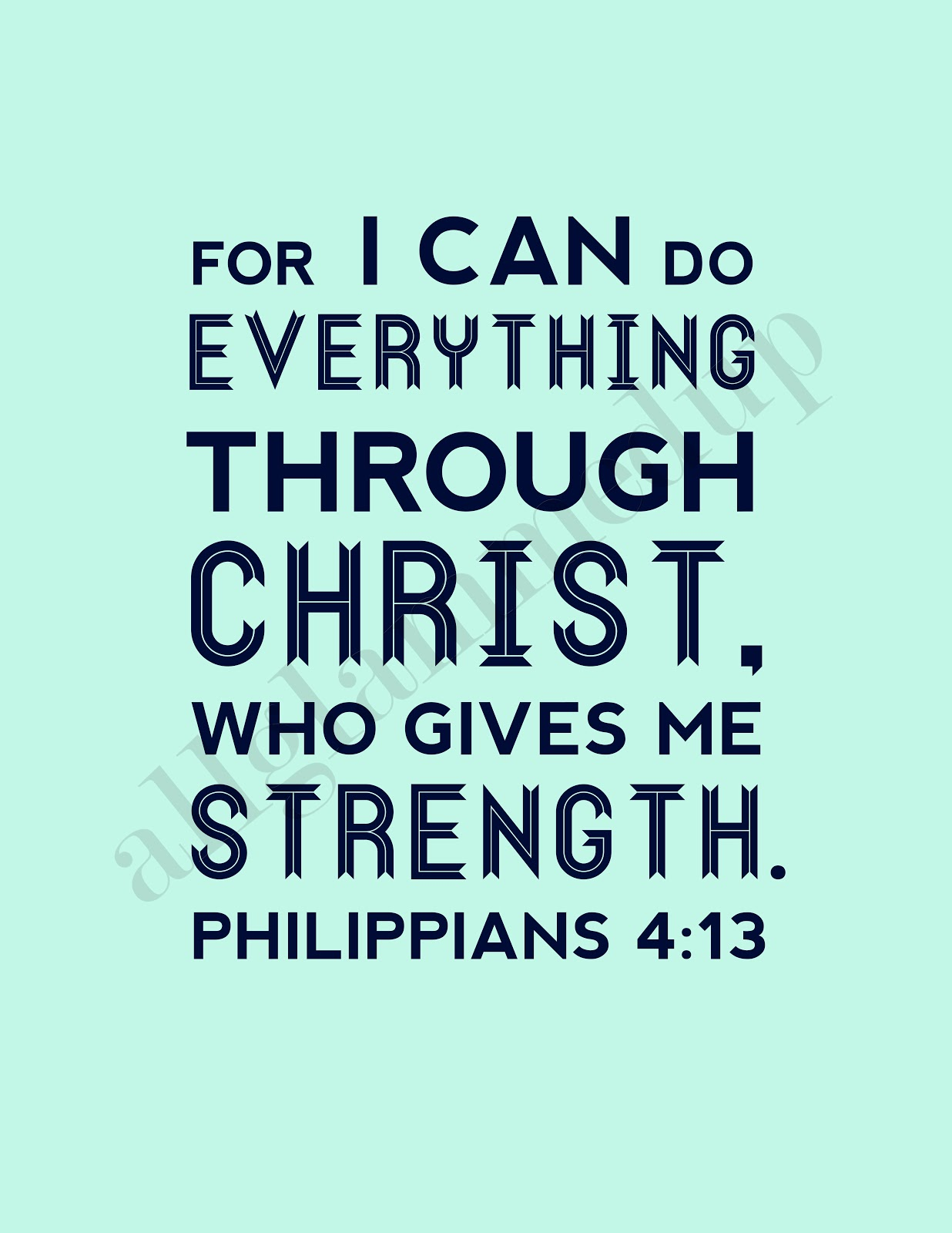 Philippians 4 13 Sports Wallpaper