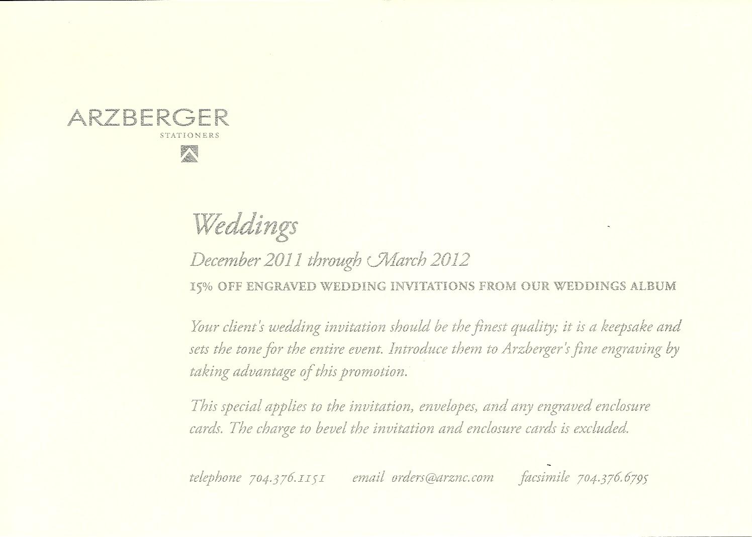 Hayden Avery Fine Stationery: Wedding Invitation Sale