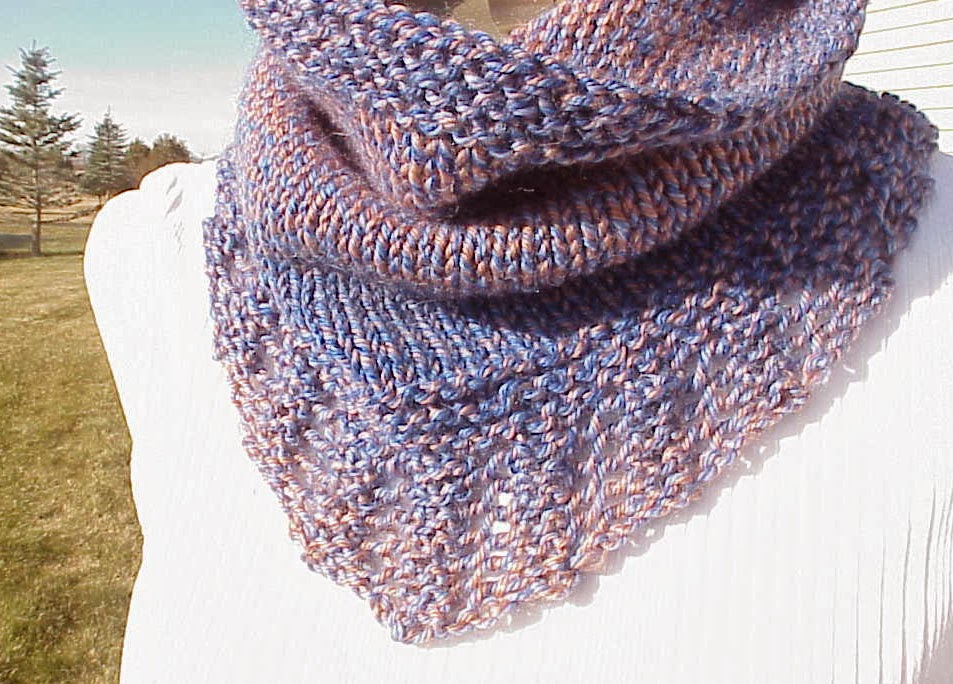 Free Knit Cowl Pattern : Kriskrafter: Free Knitting Pattern! - Bridger Cowl
