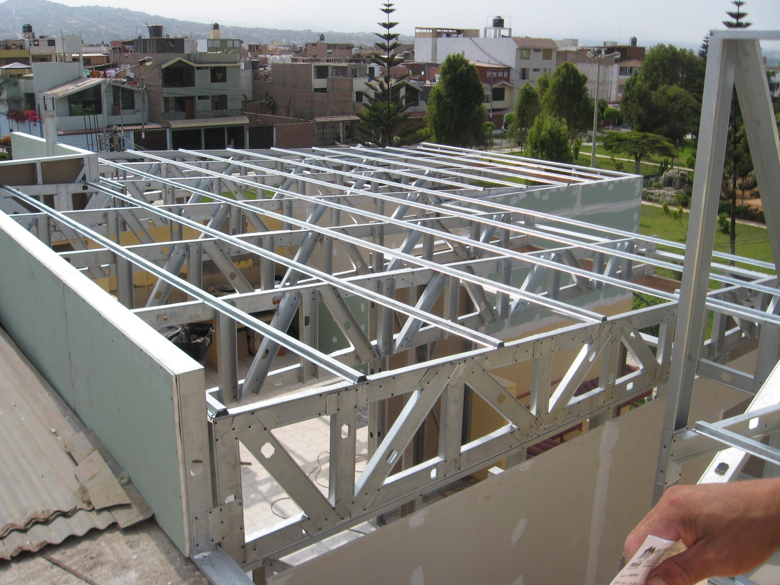 Trabajos en drywall decomuebles for Techos de drywall para dormitorios