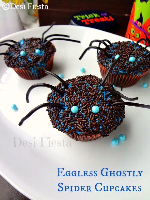 spongy eggless cupcakes