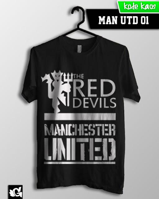 Jual Kaos Bola Gaul manchester united