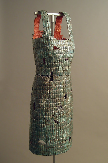 Jen Harmon Allen Dress of Armor number 14, Salt Lake County Art Collection