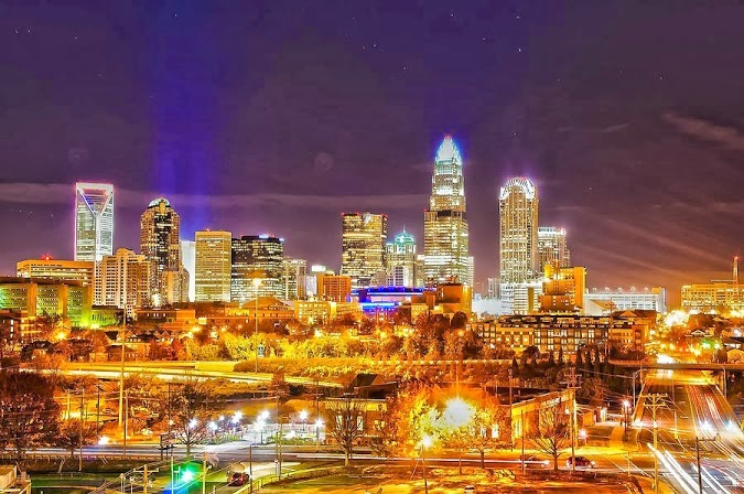 http://commons.wikimedia.org/wiki/File%3A2010_skyline_at_night_of_charlotte_north_carolina.jpg