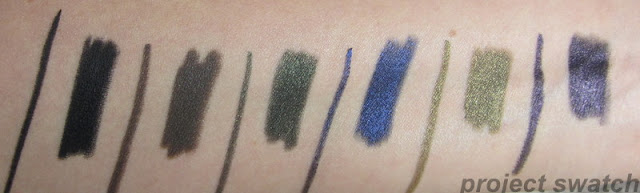 Prestige Total Intensity Eyeliners - Deepest Black, Bold Brown, Daring Green, Fierce Blue, Intense Olive, Powerful Purple
