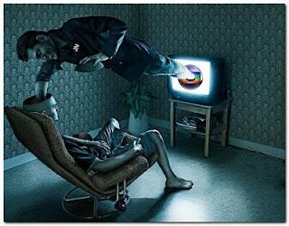 Não é você que está doente é a televisão