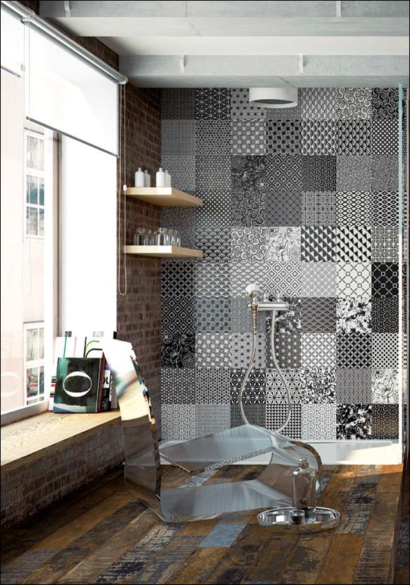 Baños Con Azulejos Hidraulicos ~ Dikidu.com