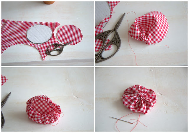 DIY yo yo  http://shabbychiclife-silvia.blogspot.it
