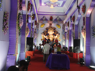 ganesh chaturthi images nr raj empire surat 2013