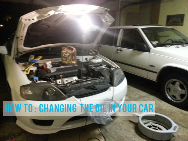 How to change the oil in your car not a size zero save money by changing your cars oil it is easier than you would imagine and you can save time by doing it yourself rather than waiting for someone to be solutioingenieria