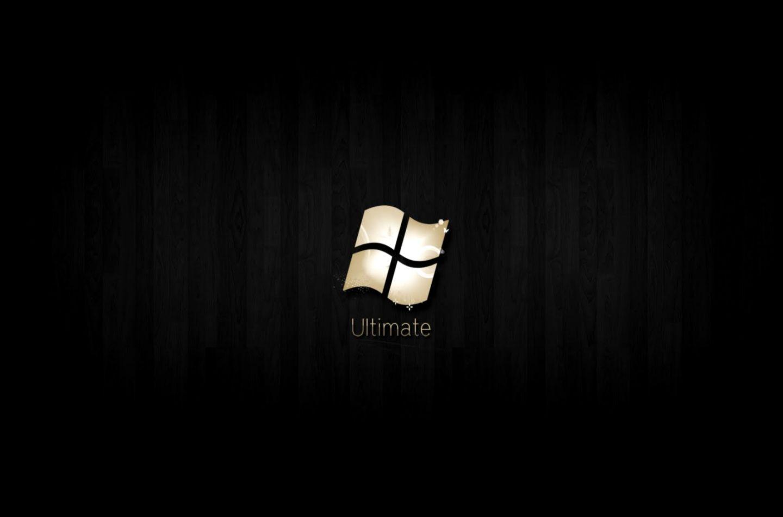 Windows 7 Wallpaper Black Hd Ultimate 18 Wallpaper