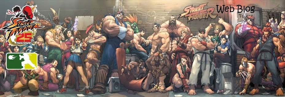 Street Fighter Web Blog