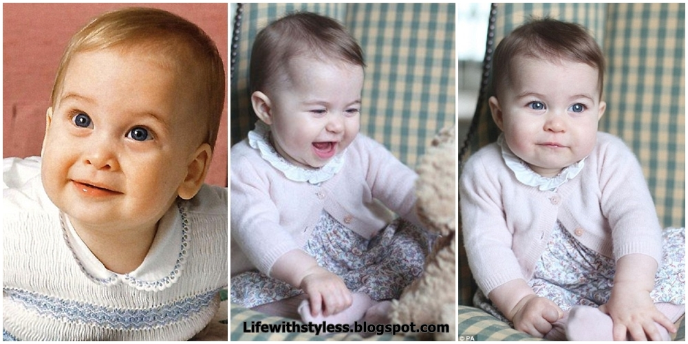 Six Month Old Princess Charlotte Looks Just Like Father