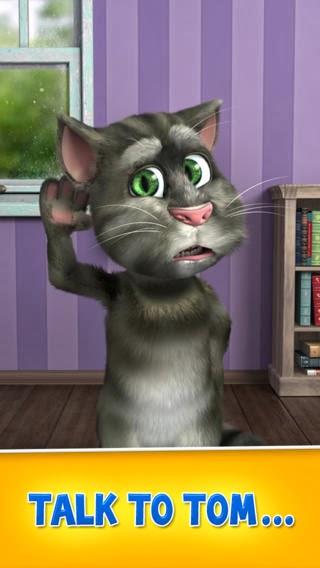 تطبيق القط توم المقلد للأصوات الإصدار الثاني للأندرويد والايفون والايباد والايبود مجاني Talking Tom Cat 2 Free APK-iOS-IPA-4.0.2